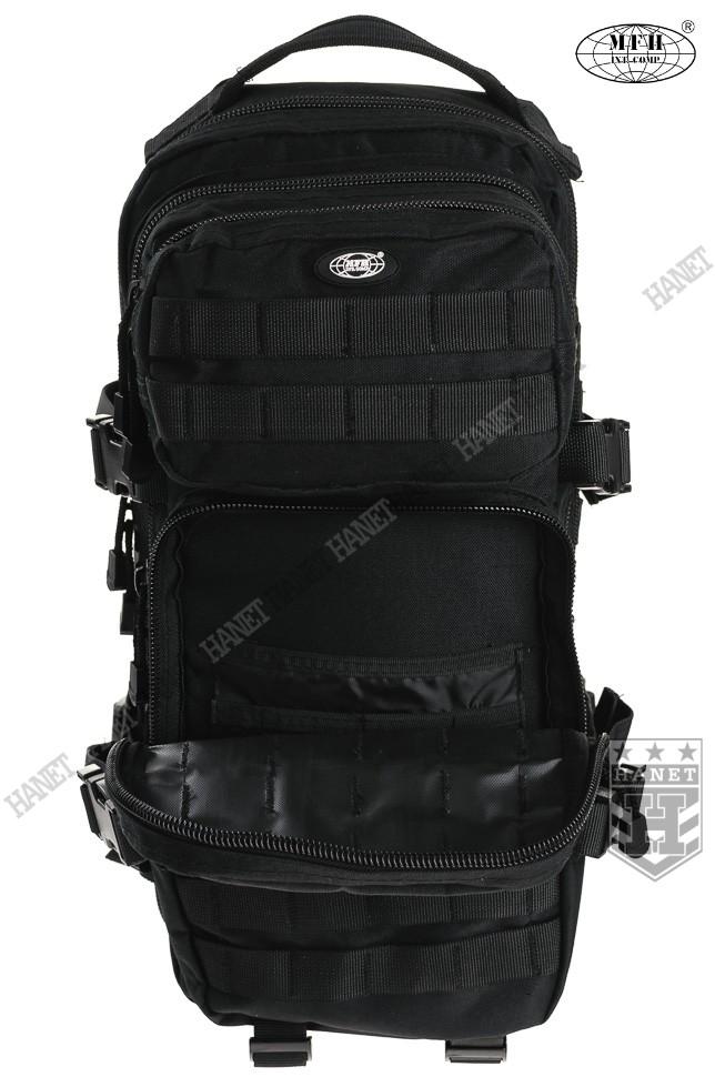 47bd8e4556351 Wojskowy Plecak ASSAULT MOLLE I 30L - Czarny - Hanet