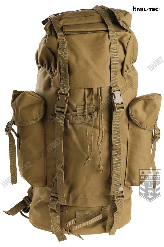Niemiecki Wojskowy Plecak Polowy BW 35L Coyote Hanet