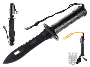 Nóż Survival'owy z Procą EXPLORE KIT KNIFE