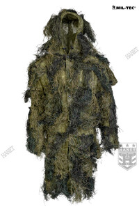 Kamuflaż Snajperski BASIC GHILLIE ANTI FIRE - Woodland
