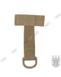 Uchwyt Adapter MOLLE D-RING - Coyote