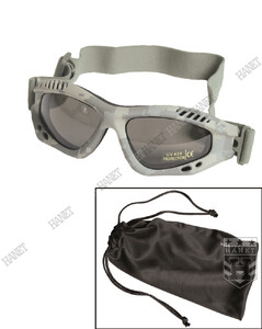 Gogle, Okulary COMMANDO AIR PRO - AT-Digital / Smoke