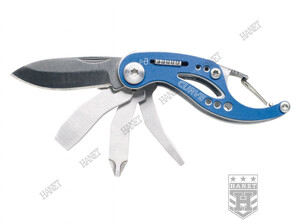 Scyzoryk MULTITOOL CURVE Do Kluczy - Blue