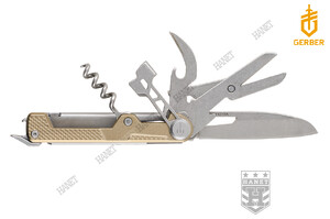 Scyzoryk MULTITOOL ARM BAR CORK - Gold
