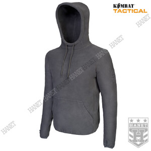 Bluza Polar z Kapturem WARRIOR - Szara