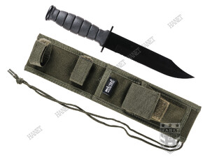 Wojskowy Nóż Survivalowy Wz. KA-BAR BLACK FIGHTER