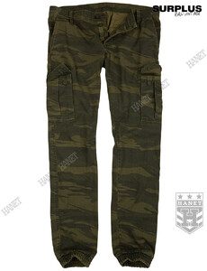 Spodnie Militarne BAD BOYS PANTS - Green Camo