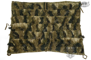 Koc Snajperski GHILLIE ANTI FIRE 1,5 x 2 m - Woodland