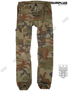 Spodnie Militarne BAD BOYS PANTS - 4 Color Camo