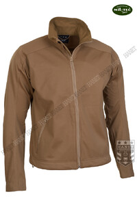 Kurtka SOFTSHELL LIGHTWEIGHT - Coyote