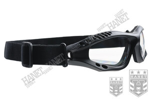Gogle, Okulary COMMANDO AIR PRO - Czarne / Clear